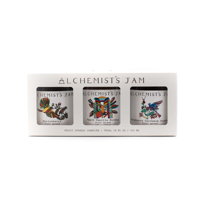 Fruit Spread Sampler Gift Pack by Alchemist's Jam