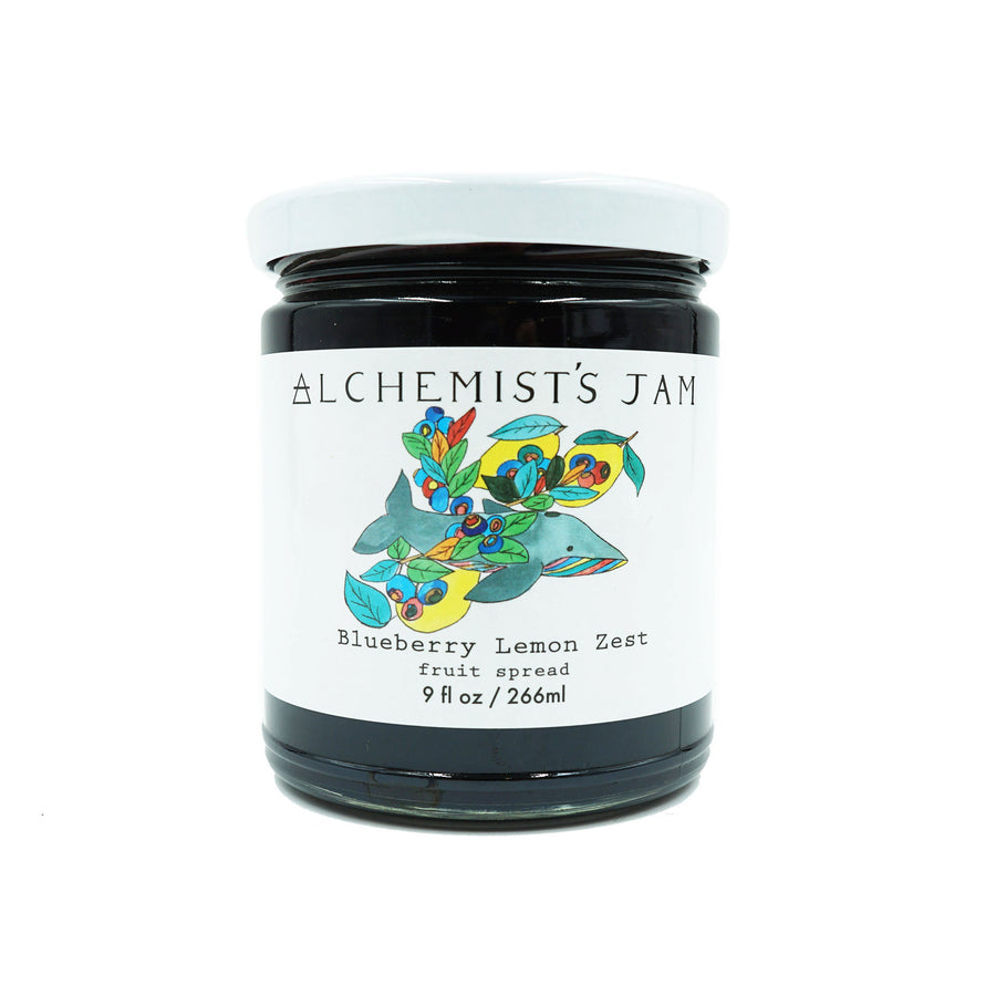 Blueberry Lemon Zest Jam by Alchemist's Jam
