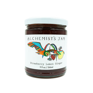 Strawberry Lemon Ginger Jam by Alchemist's Jam