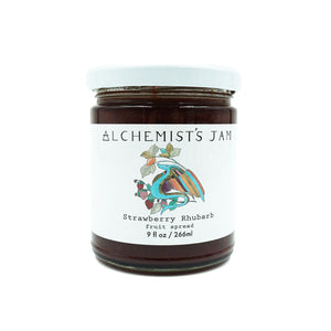 Strawberry Rhubarb Jam by Alchemist's Jam