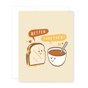 Love Sandwich & Soup Card by April Black