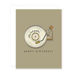 HBD Record Card by April Black