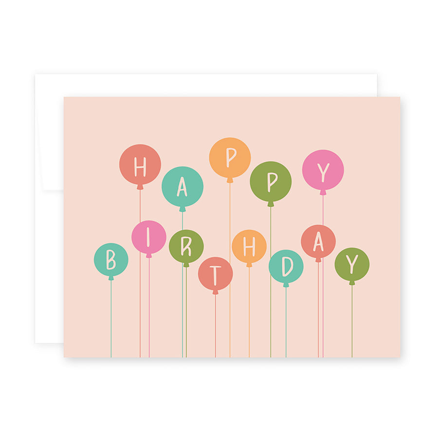 HBD Balloons Card by April Black