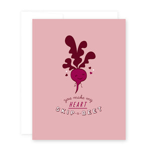Love Beet Card by April Black