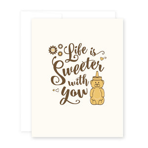 Love Honey Bear Card by April Black