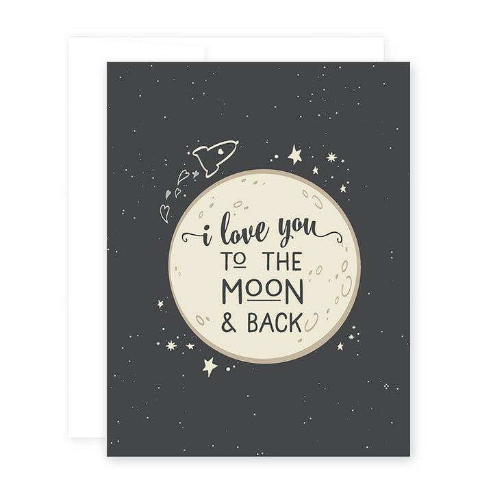 Love Moon Card by April Black