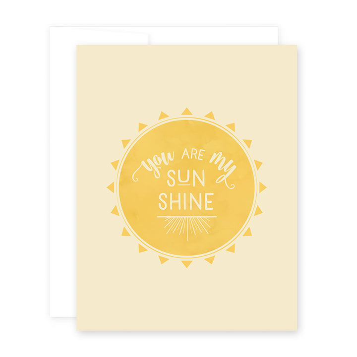Love Sun Card by April Black