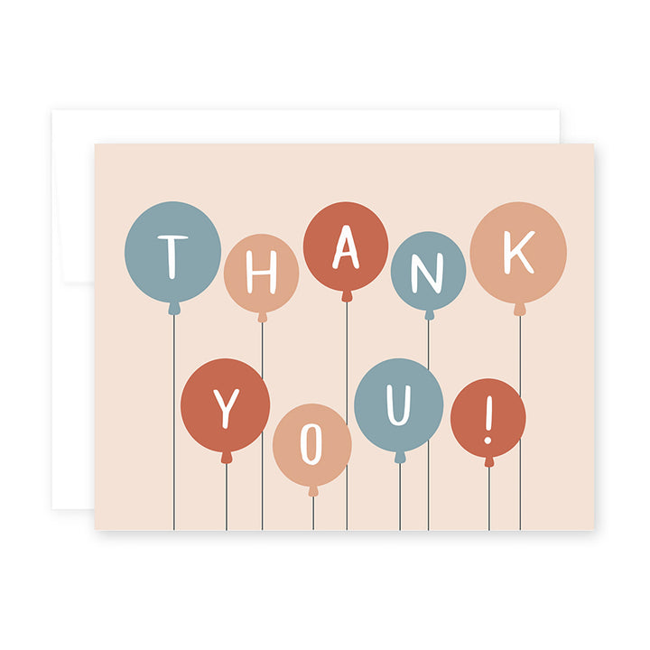Thank You Balloon Card by April Black