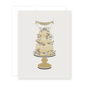 Wedding Cake Card by April Black