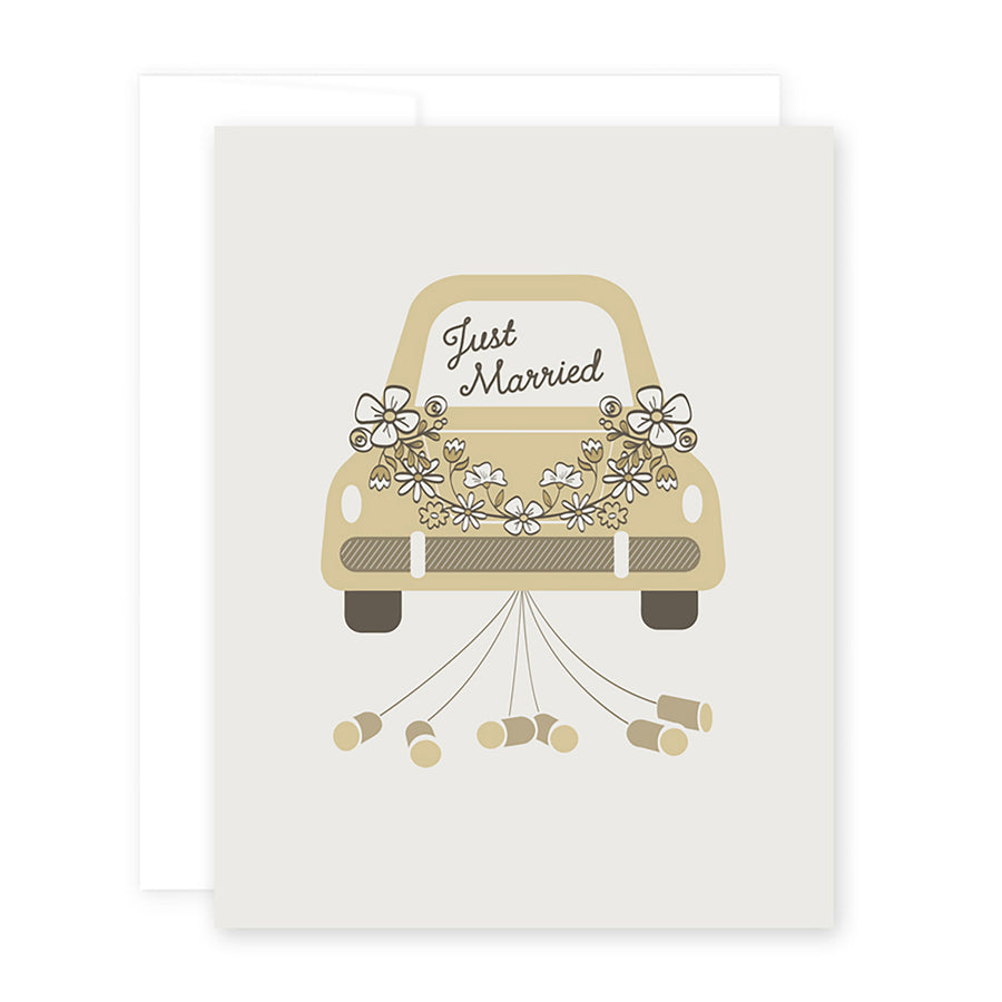 Just Married Card by April Black