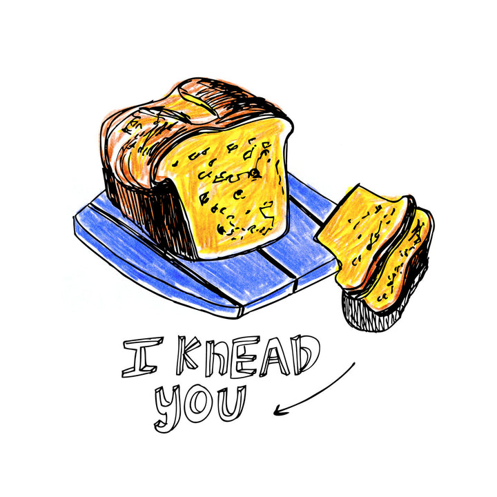 I Knead You Card by ARTjaden