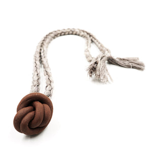 Knot Necklace by Barrow