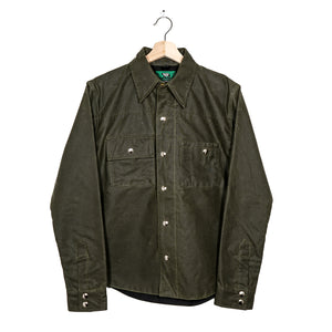 Wax Canvas Shirt Jacket