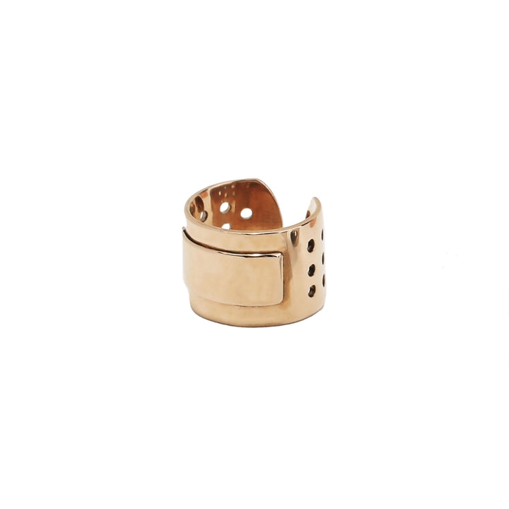 Bronze Bandaid Ring by BOOG