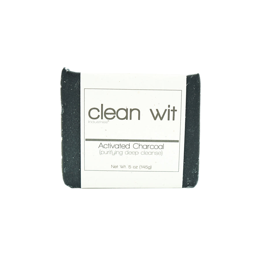 Clean Wit Activated Charcoal Soap