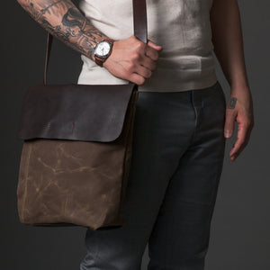 Orox Leather Co. Courier Satchel