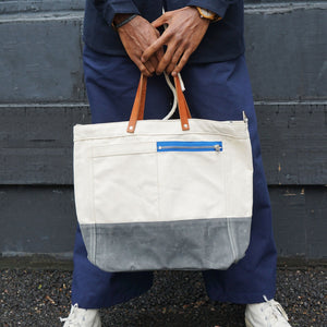 Chester Wallace Natural Driver Tote