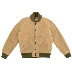 Waxed Canvas Club Jacket by Dehen 1920