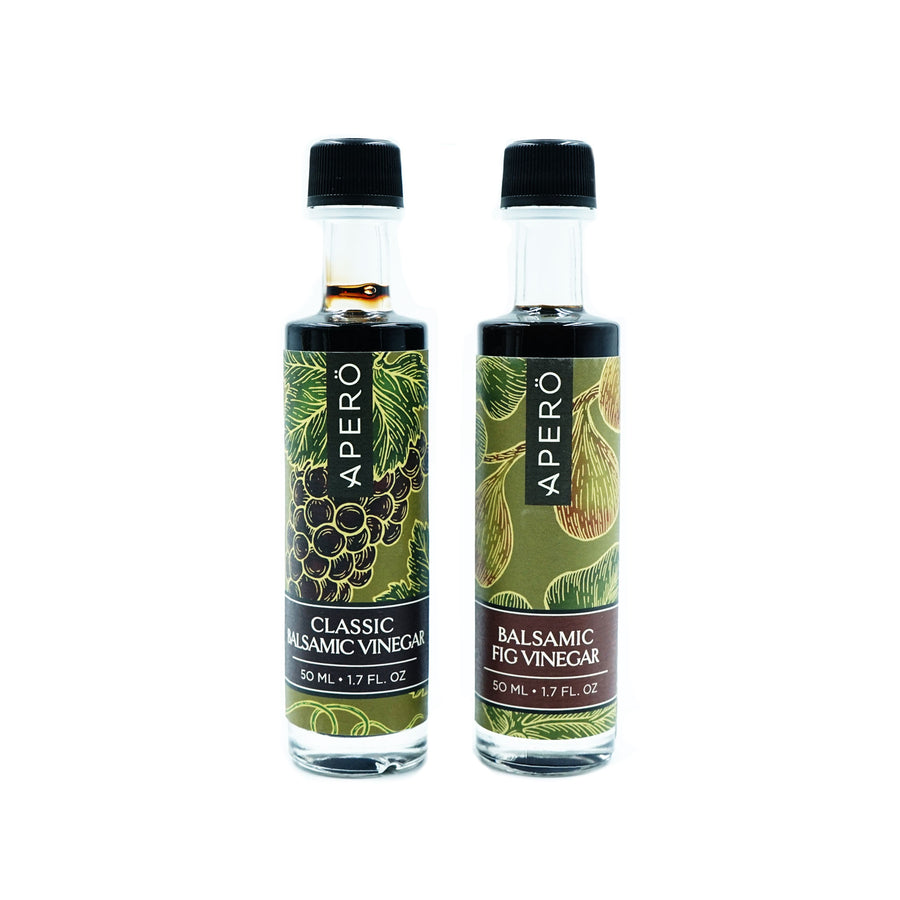 Mini Apero Vinegars 50mL by Durant Olive Mill