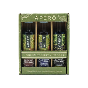 Apero Vinegar Trio Pack by Durant Olive Mill