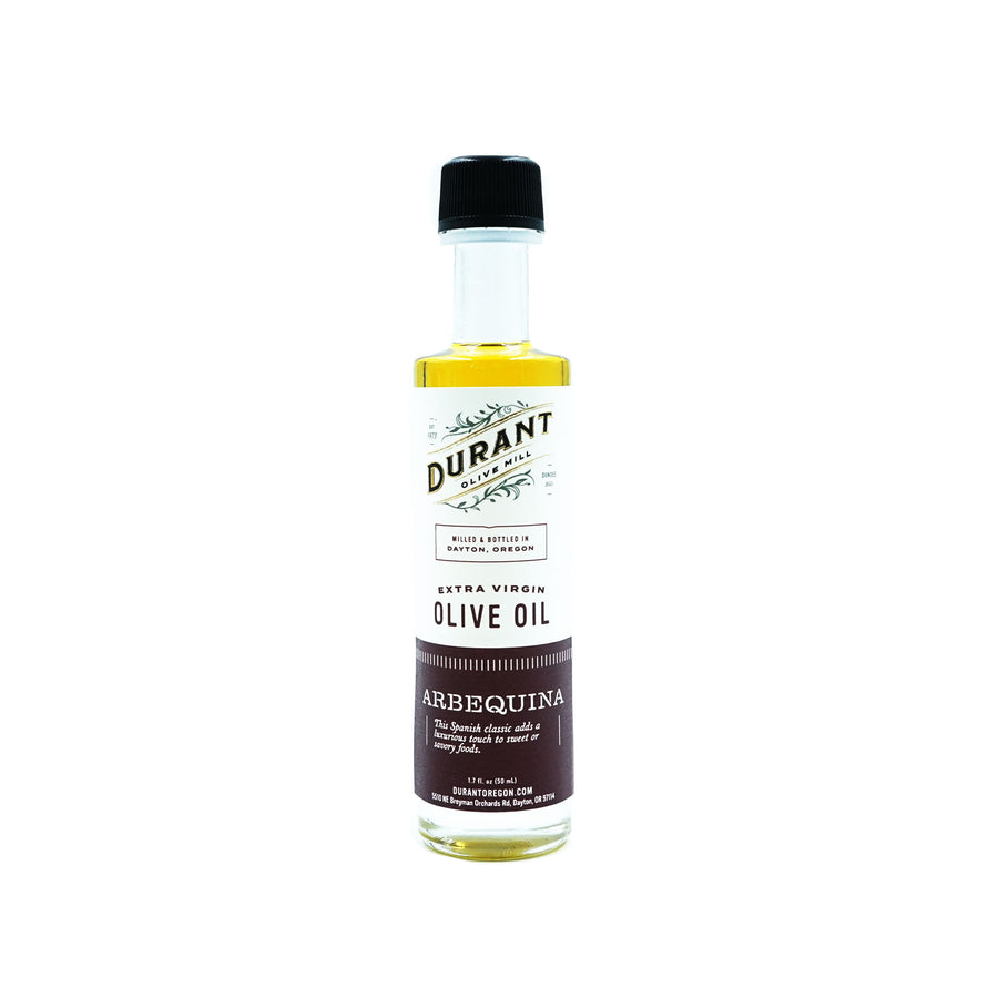 Mini Arbequina EVOO 50 ML Durant Olive Mill