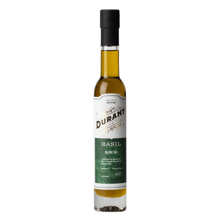 Basil Fused Olive Oil 200mL by Durant Olive Mill