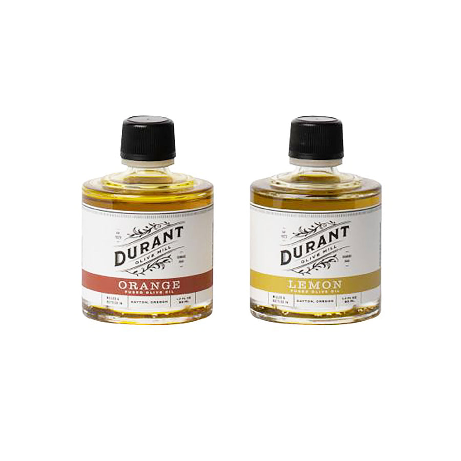 Citrus Fused Olive Oil Two-Stack Durant Olive Mill