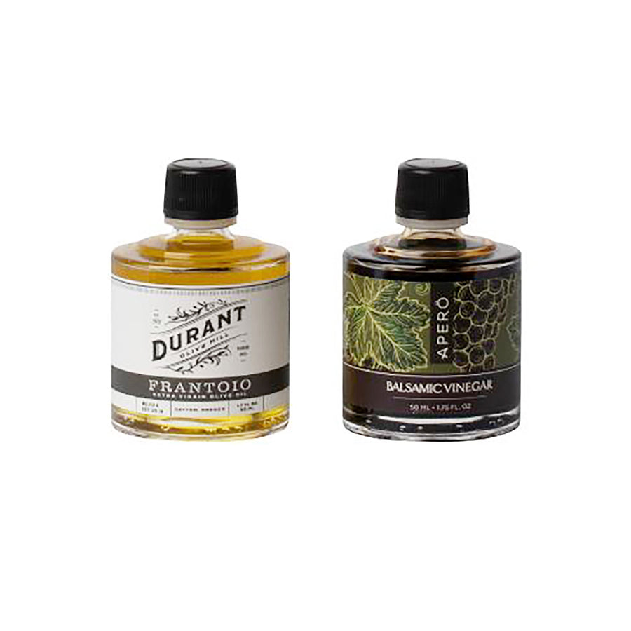 EVOO and Balsamic Vinegar Two-stack Durant Olive Mill