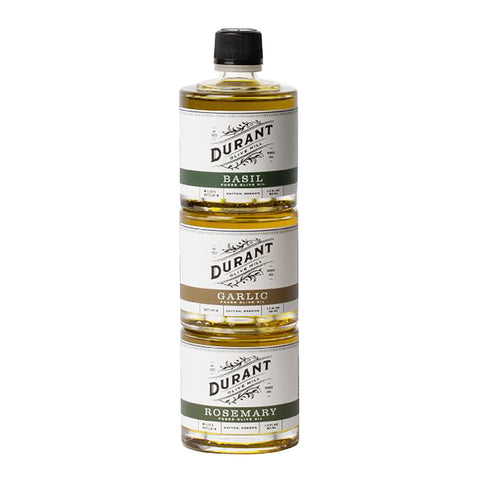 Herb Fused Olive Oil Three-Stack