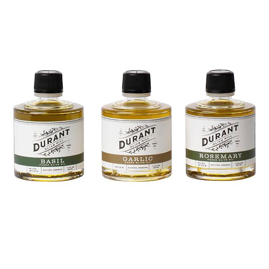 Herb Fused Olive Oil Three-stack by Durant Olive Mill