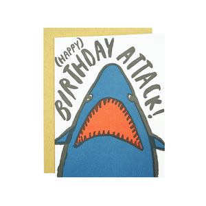 Shark Birthday Card by Egg Press