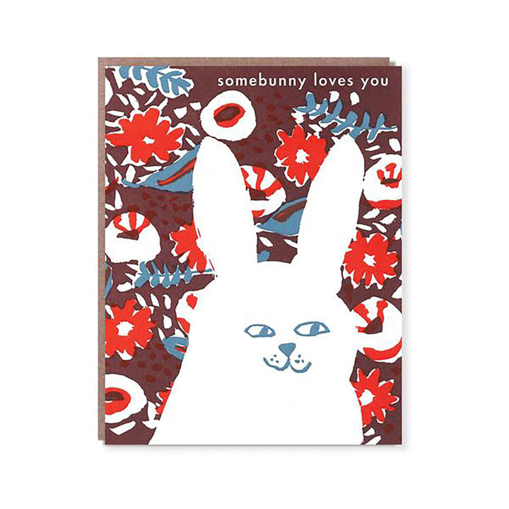Somebunny Loves You Card by Egg Press