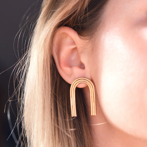 Large Arcos Studs by Emma Brooke Jewelry