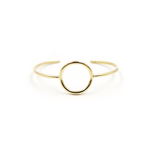 Brass Sun Cuff by Emma Brooke Jewelry