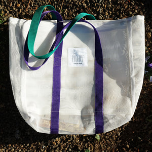 Finder Goods Daily Tote White Bag