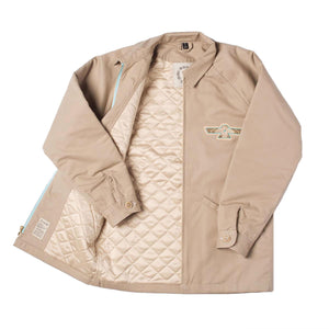 Khaki Club Coat by Ginew