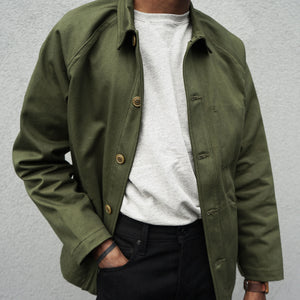 Olive Shop Jacket by Ginew