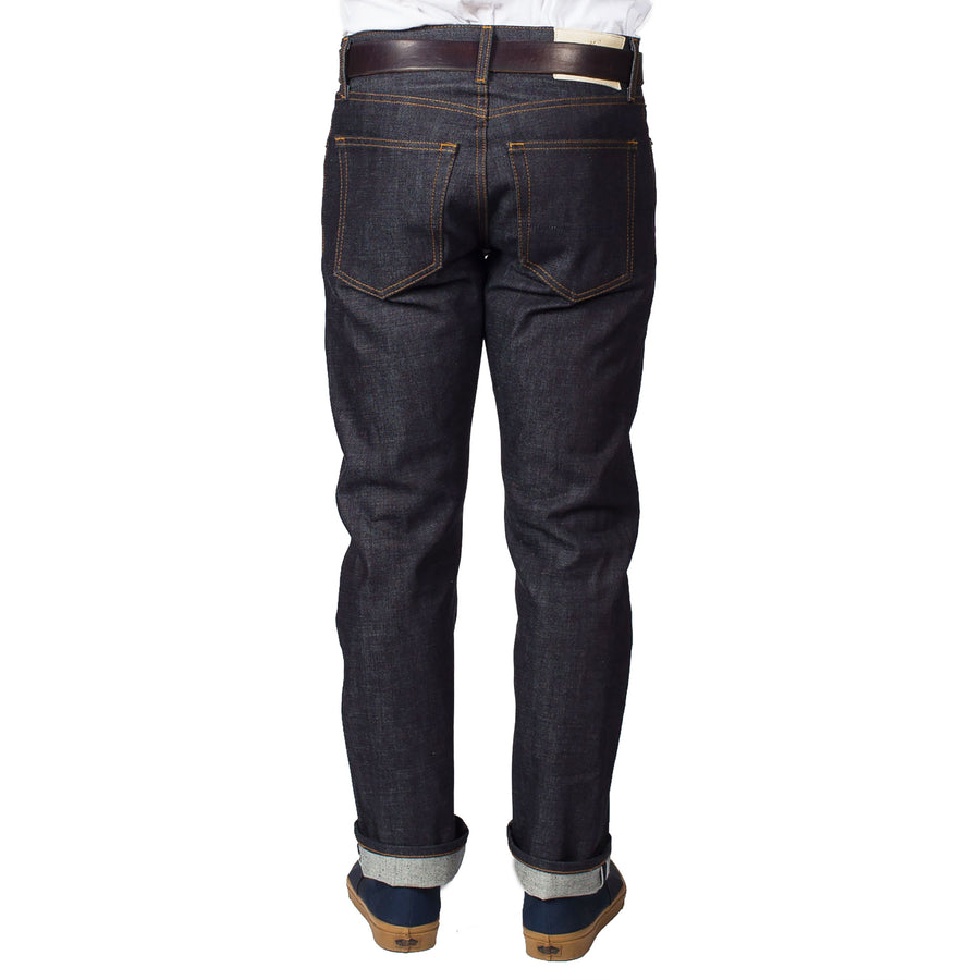 "Indigo West Fork ""Red"" Jean by Ginew"