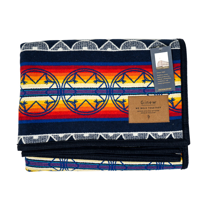 """We Walk Together"" Pendleton Wool Blanket"