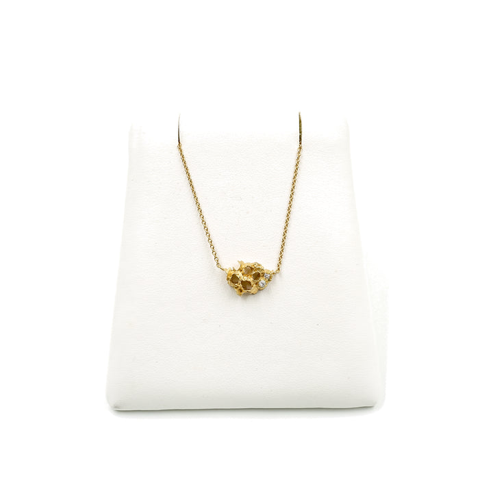 Venn Colony Diamond Necklace Gold by Grace Gow