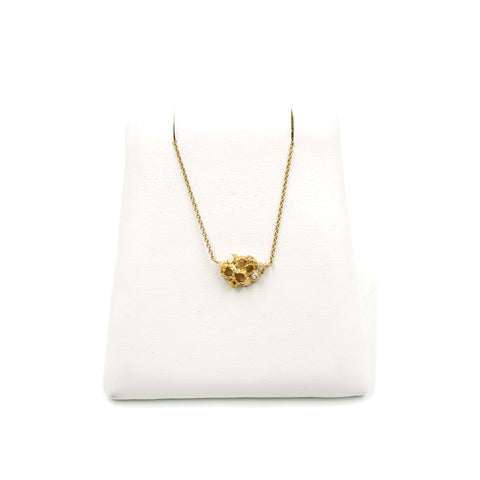 Venn Colony Gold Diamond Necklace