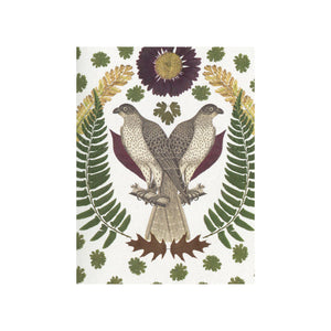 Falcon Greeting Card by Greet & Repeat