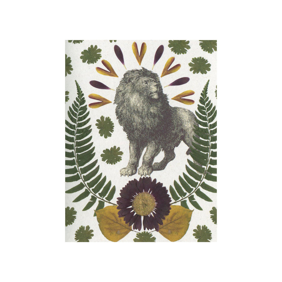 Lion Greeting Card by Greet & Repeat