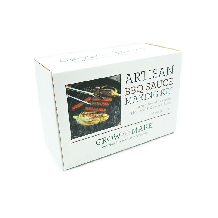 DIY Artisan BBQ Sauce Kit by Grow & Make