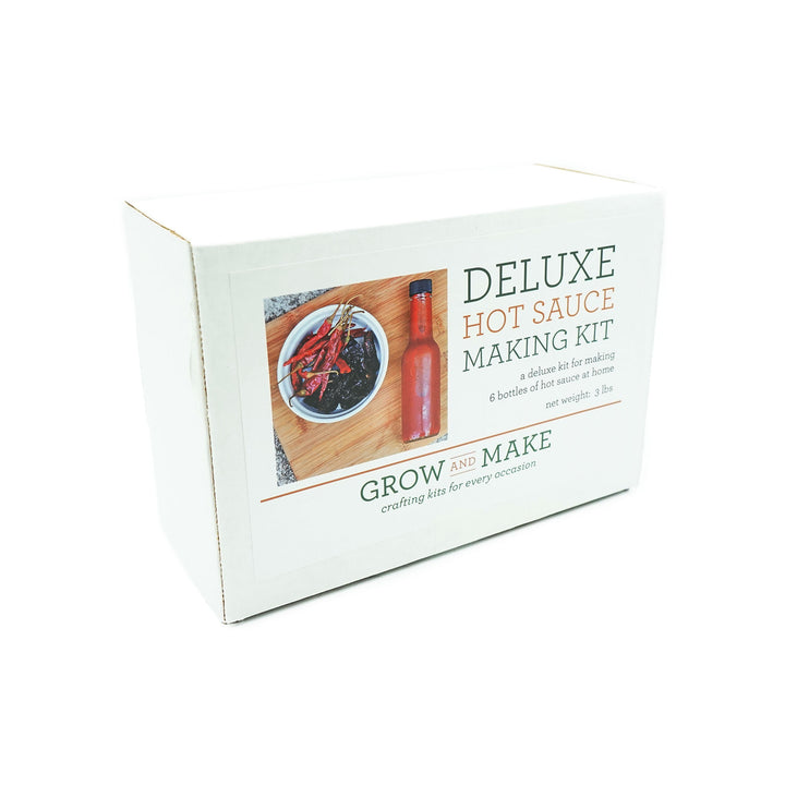 DIY Deluxe Hot Sauce Kit by Grow & Make
