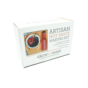 DIY Artisan Hot Sauce Kit by Grow & Make