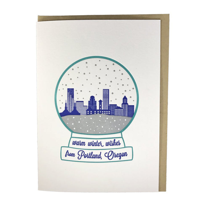 Snowglobe PDX Card
