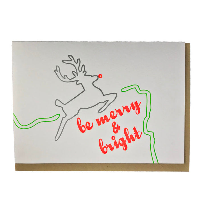 Merry & Bright OR Stag Card