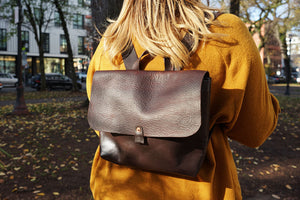 Leather Satchel Backpack by Orox Leather Co.