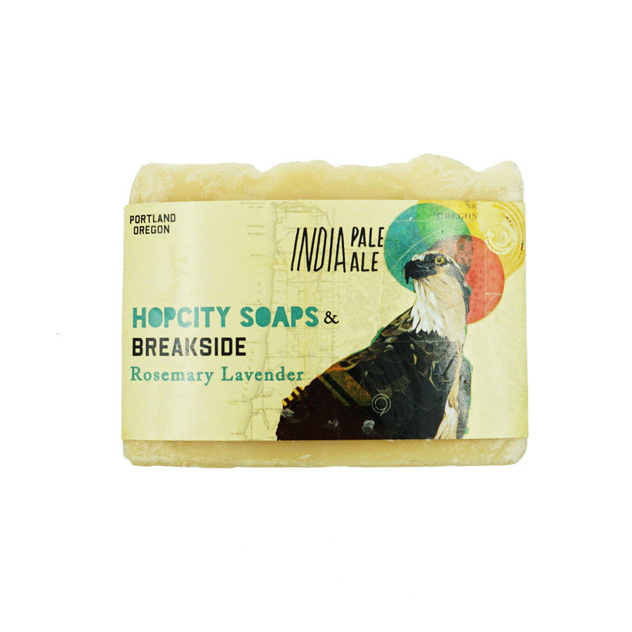 Rosemary Lavender Breakside IPA Soap by Hop City Soaps